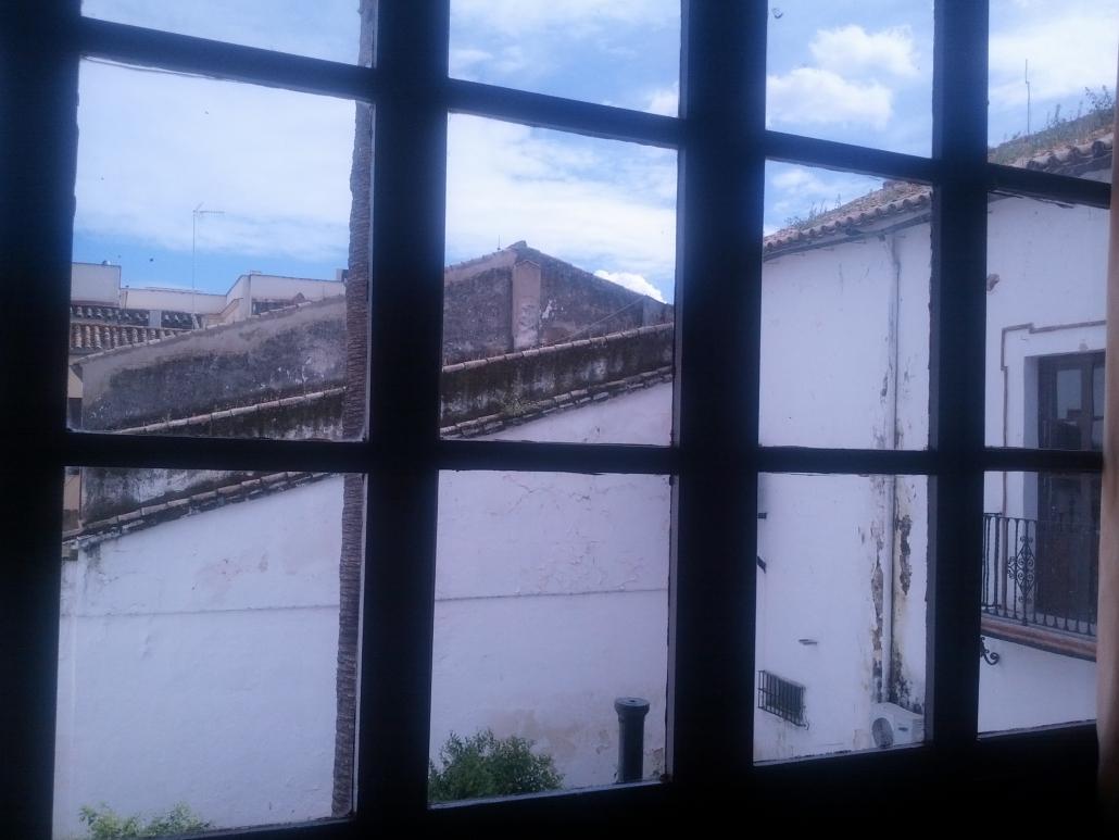 Desde la galería edificio CEP Lora del Río