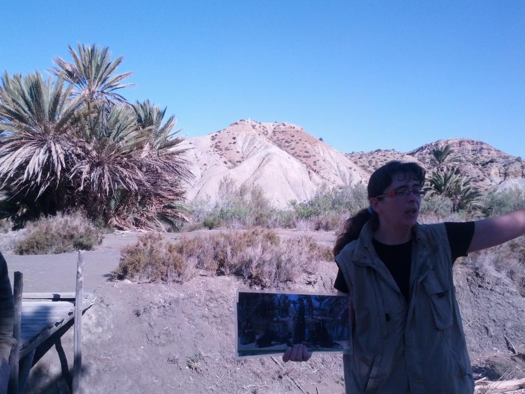 Lawrence de Arabia, el Desierto de Tabernas y Cristina Serena