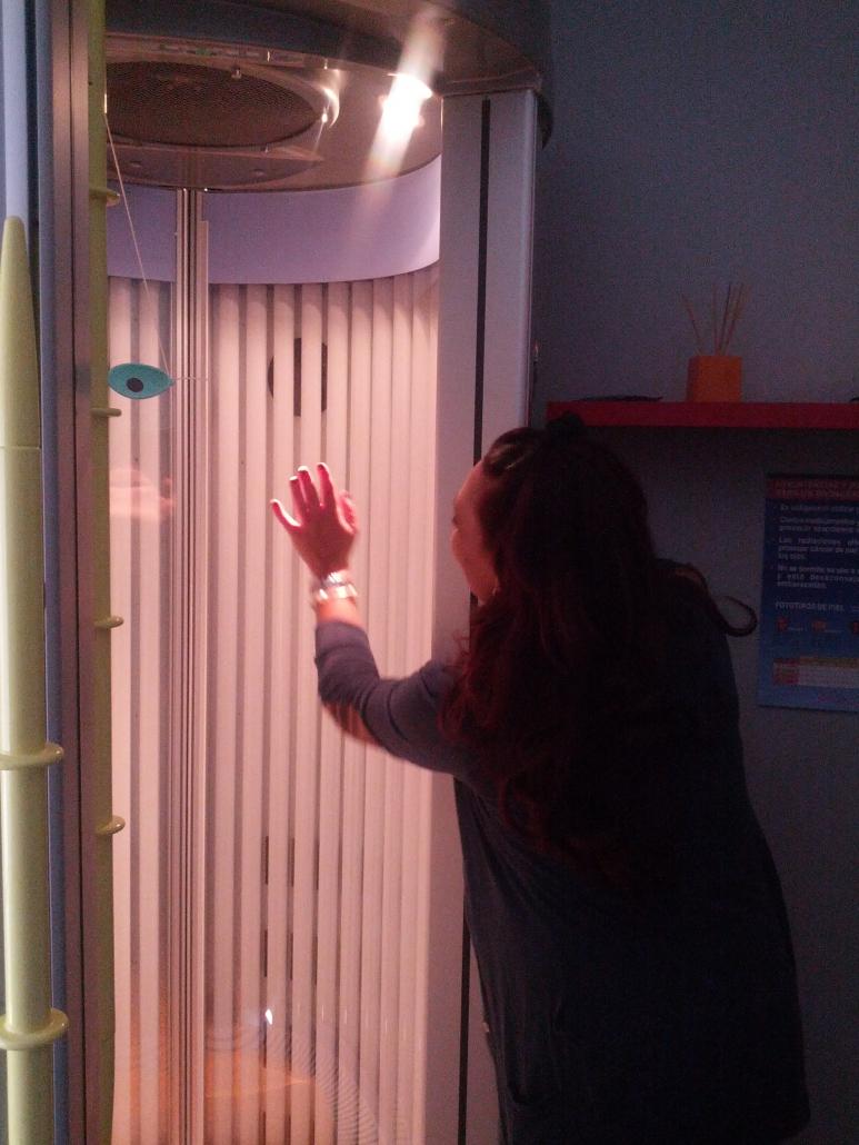 Magdalena nos muestra las instalaciones