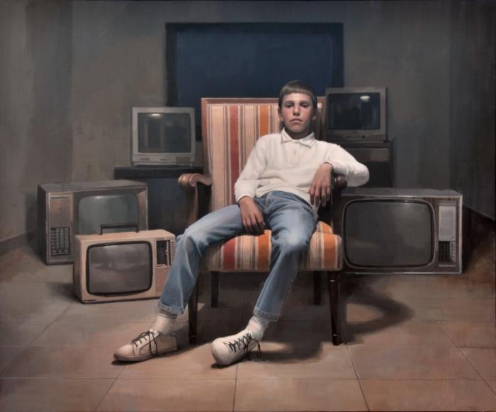 Retrato de familia. Jorge Gallego (Premio Nacional Arte Figurativo)