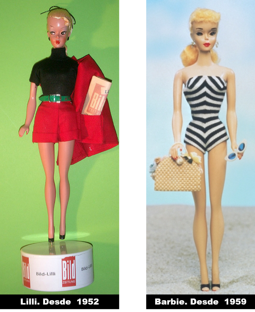 LILLI (1952) y BARBIE (1959)